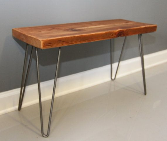 Mid Century Solid Wood Small Platform Slat Bench Or Coffee: 1000+ Ideas About Modern Bench On Pinterest
