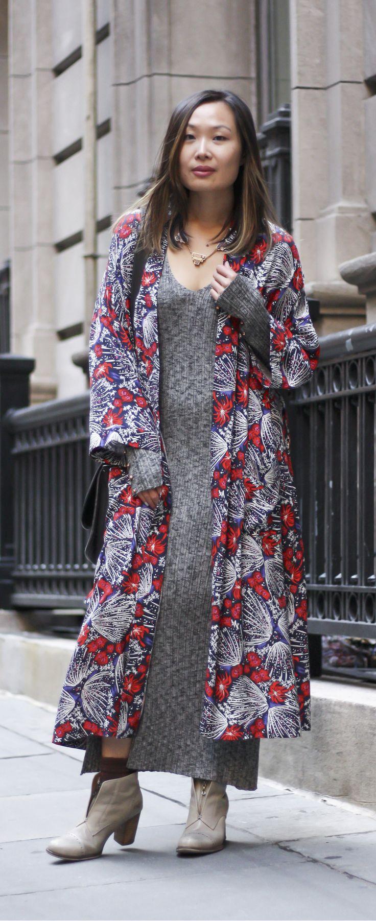 Kimono outfit fall, kimono outfit ideas, how to style a kimono, floral kimono. Full post on www.layersofchic.com