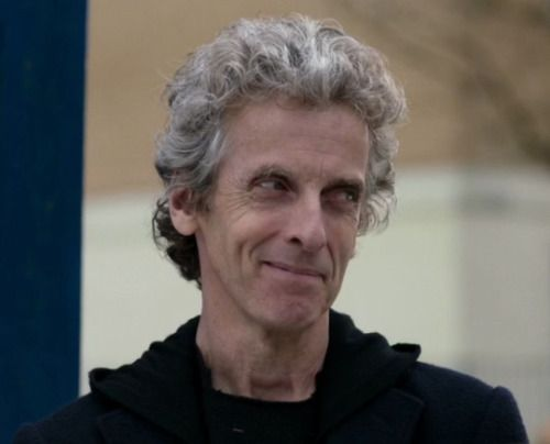 """Peter Capaldi knew he was in New York the minute he stepped out of a classic yellow cab that drove him to the premiere of Doctor Who. """"Someone just shouted at me from the crowd, 'The first Italian Doctor"""""""" he said, laughing."""