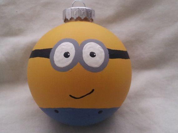 1000  ideas about Minion Ornaments on Pinterest | Ornament ...
