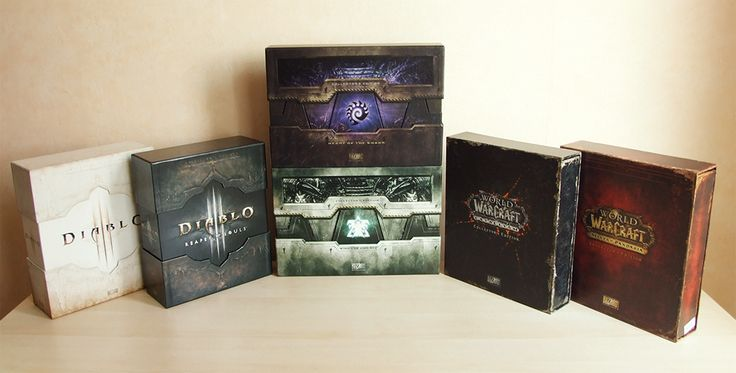 Blizzard CE - World of Warcraft, Starcraft 2, Diablo 3