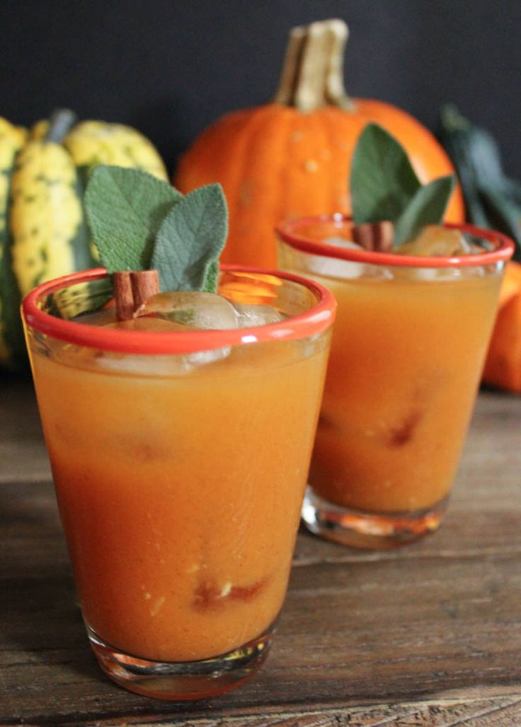 Pumpkin Bourbon Punch