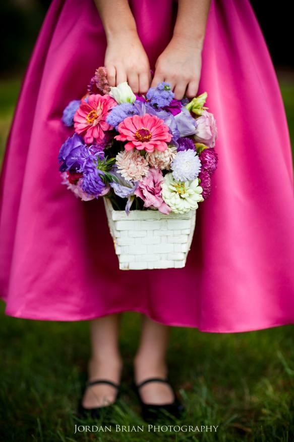 Flower girl bouquet ideas.