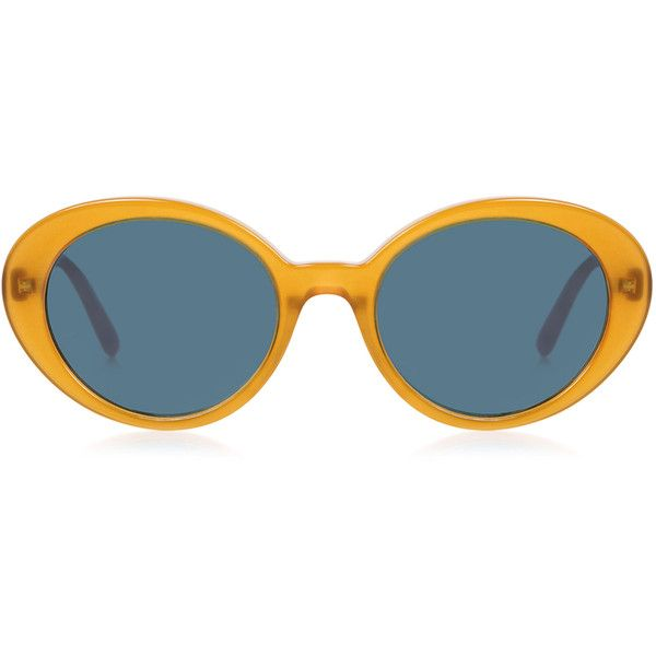 Oliver Peoples X The Row - Parquet Photochromic lens Sunglasses ($420) ❤ liked on Polyvore featuring accessories, eyewear, sunglasses, cat eye sunglasses, lens glasses, cat-eye glasses, cat eye glasses and lens sunglasses