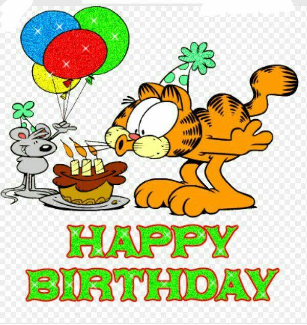 Картинки для, картинки с днем рождения с гарфилдом