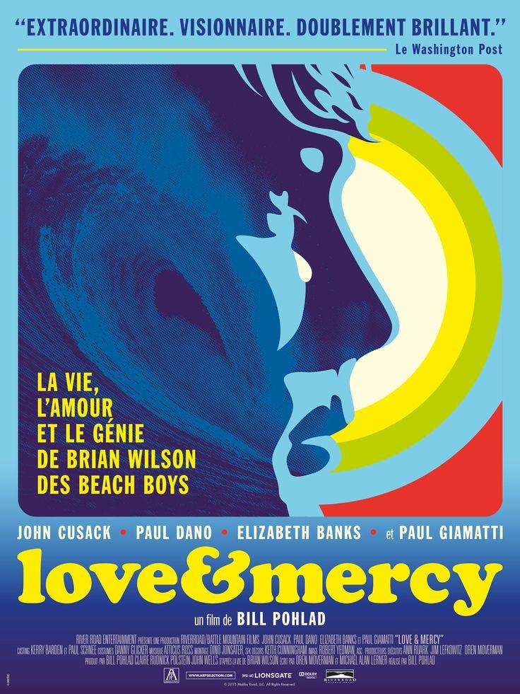 Love & Mercy, la véritable histoire de Brian Wilson des Beach Boys est un film de Bill Pohlad avec Paul Dano, John Cusack. Synopsis : Derrière les mélodies irrésistibles des Beach Boys, il y a Brian Wilson, qu'une enfance compliquée a rendu schizophrène. Paul Dano ressuscite son géni