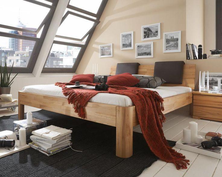 massivholz bett caro ii bestellen bei m bel mall. Black Bedroom Furniture Sets. Home Design Ideas