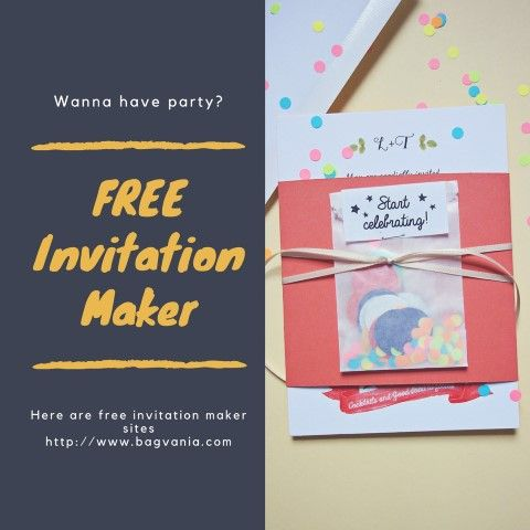 The 25+ best Invitation maker ideas on Pinterest Online - create invitation card free download