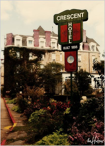 The Crescent Hotel in Eureka Springs, AR - Photo by Jason