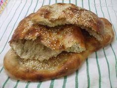 Chlebové placky s kváskom (fotorecept)