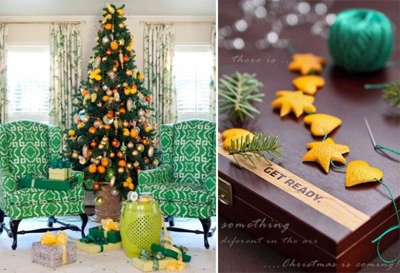 Christmas Tree Ornaments of Oranges
