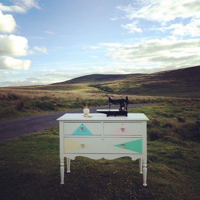 New pieces #upcycled #upcycledfurniture #kylelaneclonmel #kylelane