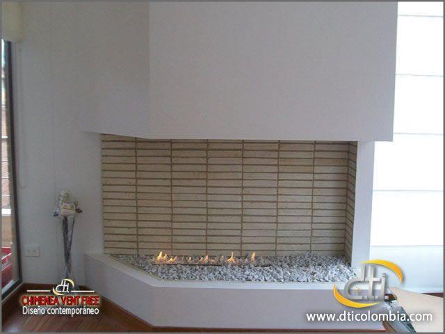 http://www.dticolombia.com/contactenos Diseño, Servicio Técnico e Instalación de Chimeneas a Gas No Ventiladas o Vent free en Bogotá, Colombia. Tel : (57-1) 8052257 - 8052269