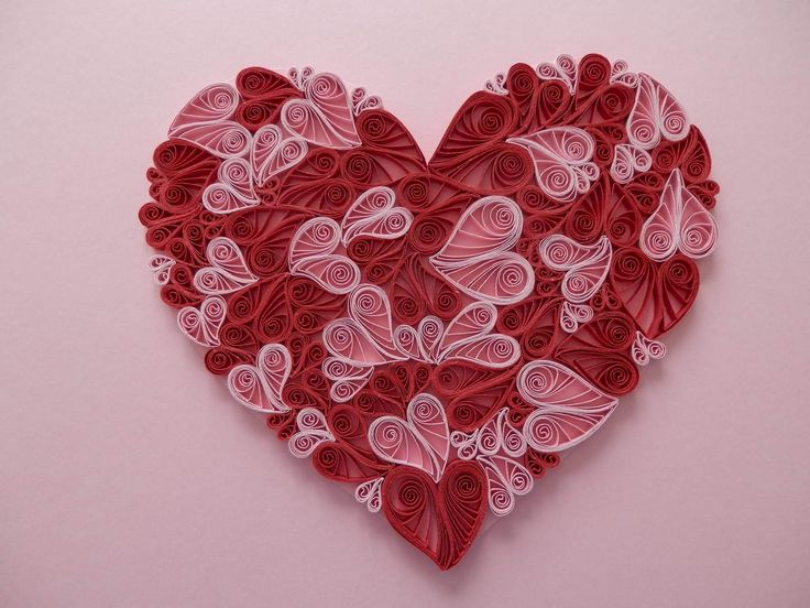 17 best images about quilling hearts on pinterest for Quilling heart designs