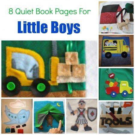 quiet books boys