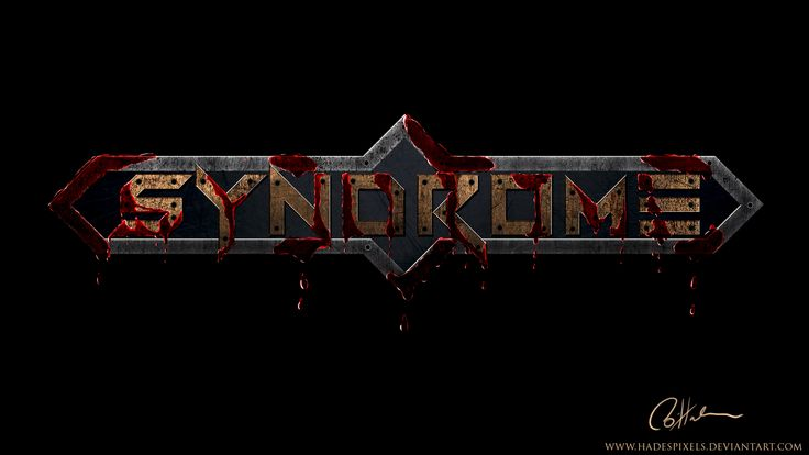 Syndrom Logo by HadesPixels.deviantart.com on @DeviantArt