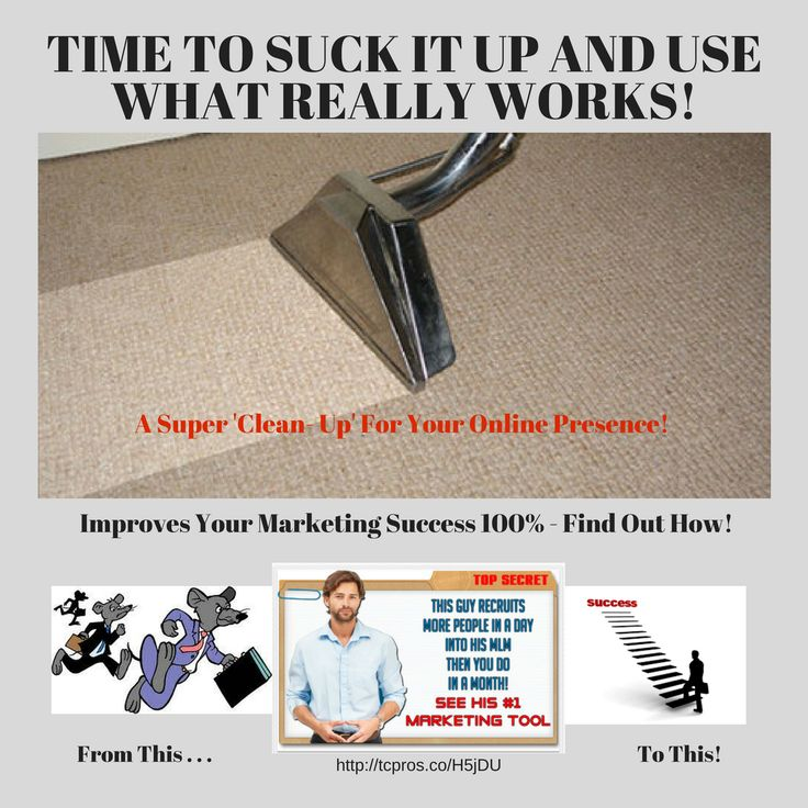 http://tcpros.co/H5jDU Quit Wasting Time On What Does Not Work! Success Leaves Clues...Time To Find Out What Really Does Works! #successfulbusiness #successmindset #successmakingmoney #successfulglobalbusiness