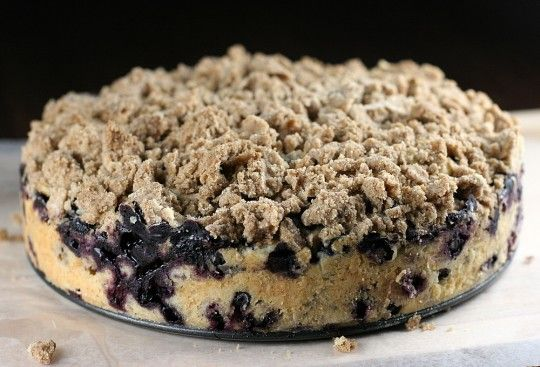 Martha Stewart's Blueberry Buckle Recipe (Also great with raspberries!)
