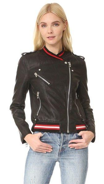 Blank Denim Frisky Business Moto Jacket