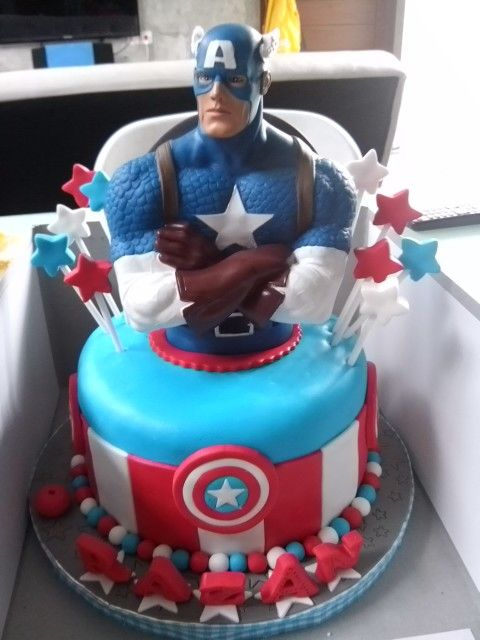 Capt. Usa by Delines cake