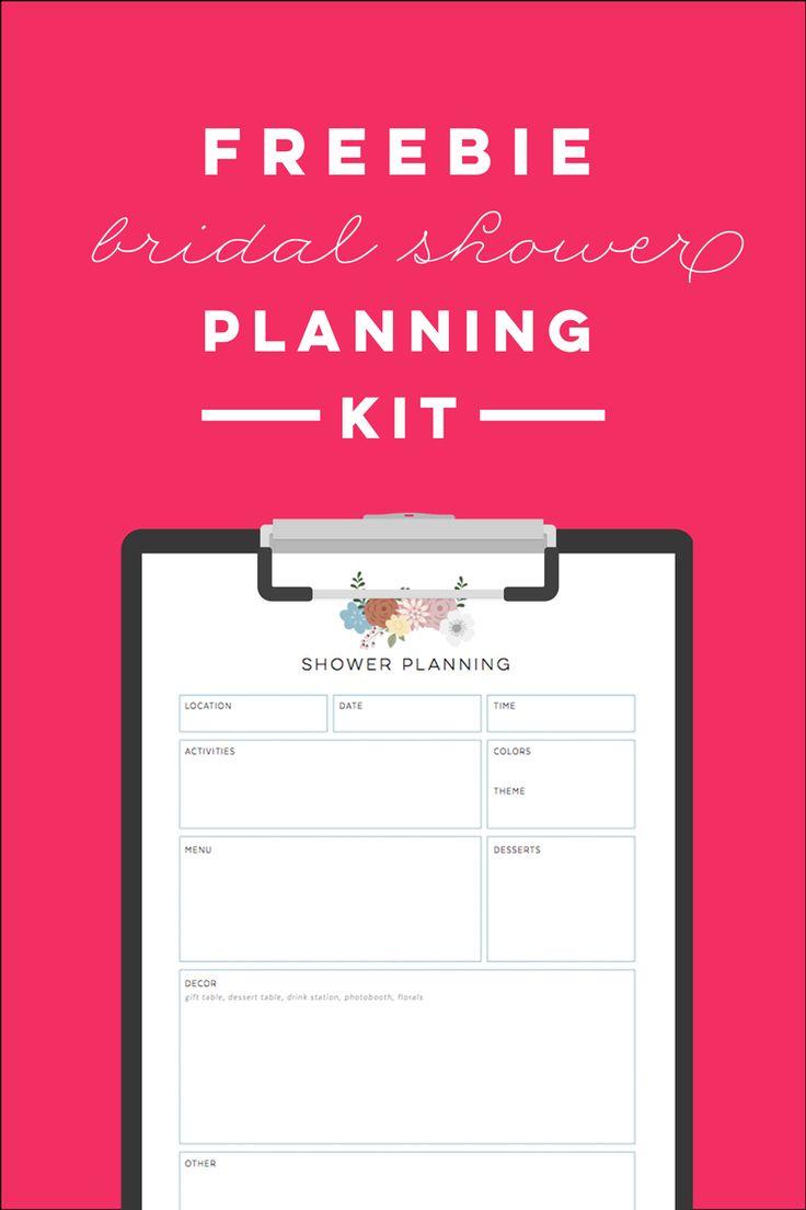 Bridal Shower Planning Checklist - FREE                              …