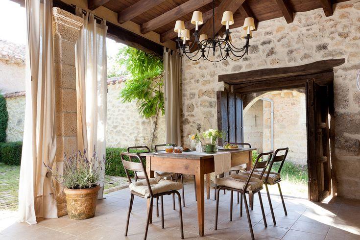 25 best ideas about cortinas de patio en pinterest cortinas al aire libre cortinas porche - Cortinas para casa de campo ...