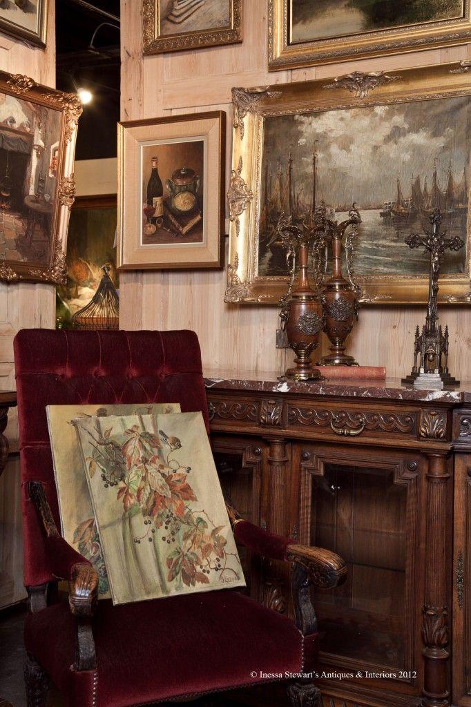 Antique Store Online ~ European Antiques ~ www.inessa.com ~ Antiques, Antique chair, antique accessories