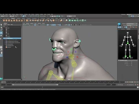 CGI 3D Tutorials : Quick Rigging and Skinning a Character in Maya 2017 - YouTube