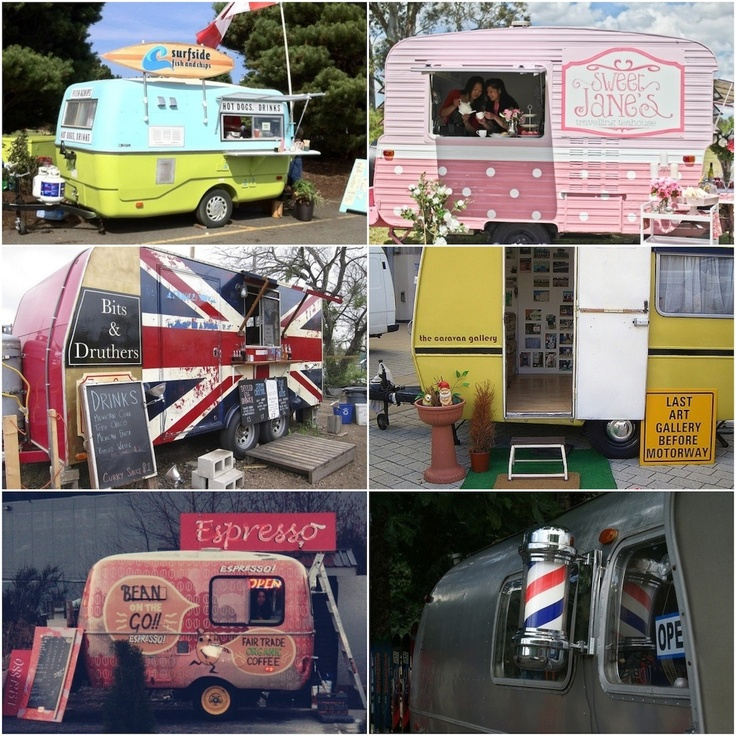 This is one of our ultimate dreams!... If you could have a little trailer like this, what would you do? A little coffee shop, tea shop, book store, art gallery?