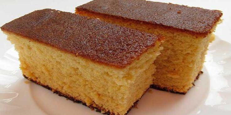 El bizcocho sin azúcar es un dulce idóneo para personas con diabetes o que estén siguiendo una dieta baja en calorías.