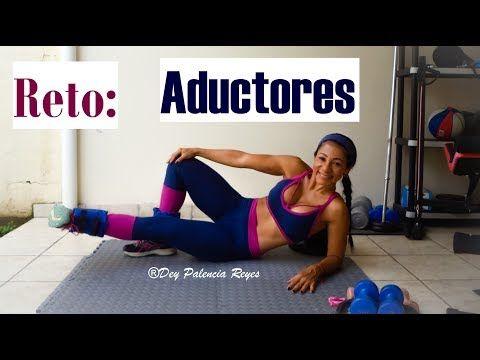 Rutina Abductores y Aductores (Gorditos entre pierna) (Thigh Gap)   Naty Arcila   - YouTube