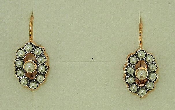 Jewellery-Earrings-Designer-Simply Italian - Seed Pearl Earrings