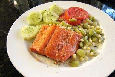 Simple Baked Salmon with a Honey-Citrus Glaze Recipe