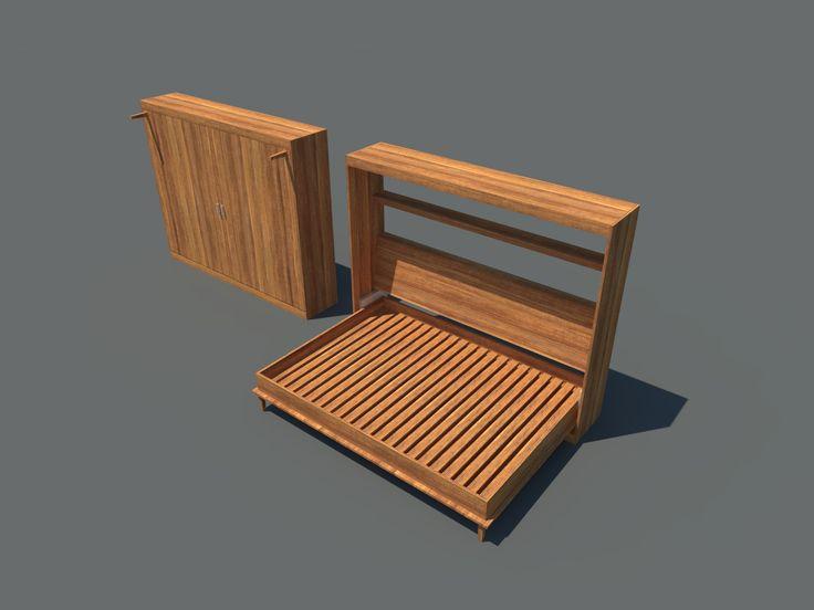 249 best murphy beds images on pinterest woodworking bedroom ideas and hidden bed. Black Bedroom Furniture Sets. Home Design Ideas