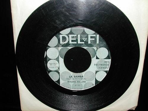RICHIE VALENS La Bamba / Donna 45 rpm Record Del Fi 4110 1058-118 1058-119