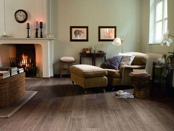 The Quick Step Impressive Scraped Oak Grey Brown Is A Truly Authentic  Laminate Floor That Looks And Feels Natural. Each Plank Has An Authentic  Touch, ... Part 92