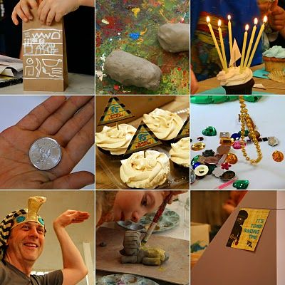 smart mama: Ancient Egypt Birthday Party Plan