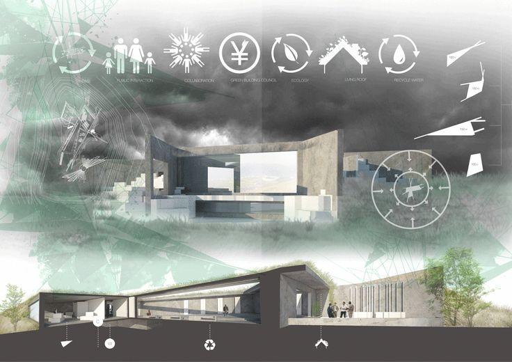 PORTFOLIO - Michelapenso #Sustainable #Design #Architectural #Concept #signalHill #CapeTown