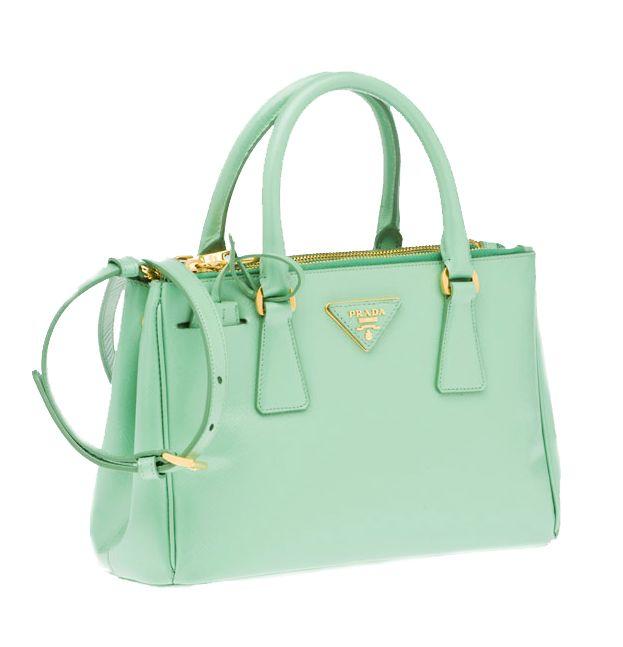 Mint Prada Green Handbaghandbags