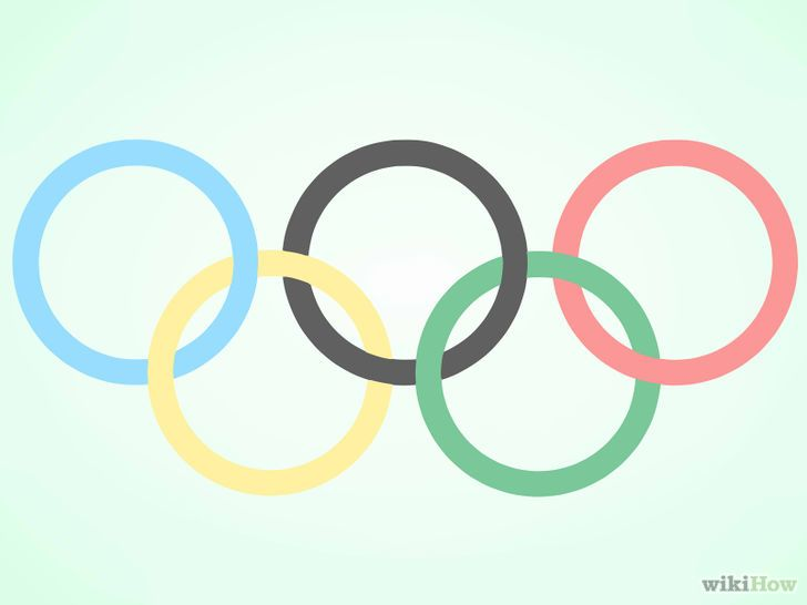 Imagen titulada Draw the Olympic Rings Step 6