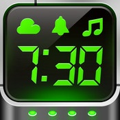 Alarm Clock Pro  By iHandy Inc.    Alarm Clock Pro turns your iPhone or iPod touch into a beautiful digital clock with gorgeous themes and an alarm clock that sings your favorite tunes. There is even a built-in flashlight to light up the darkness!