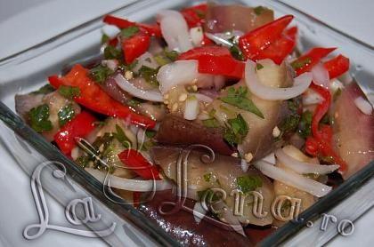 Salata marinata de vinete
