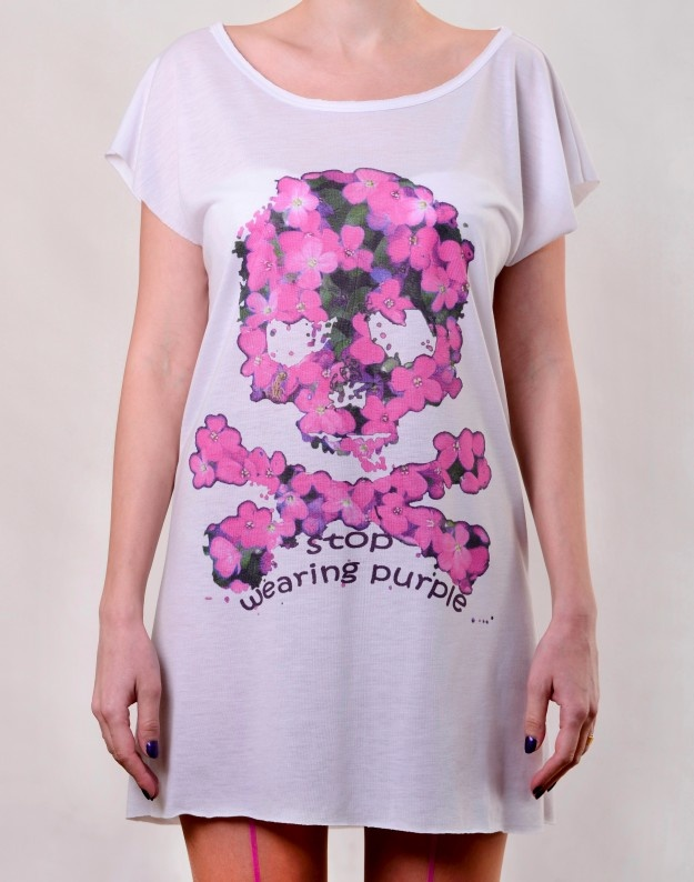 Purple Skull T-Dress  http://www.hotncool.ro/femei/purple-skull-tdress.html