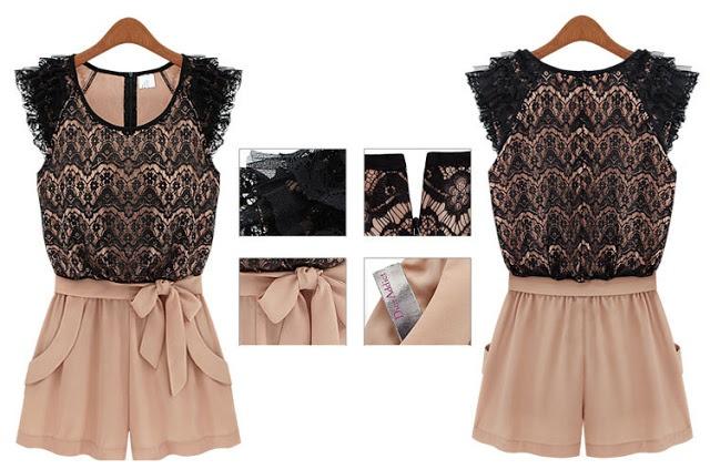 Lace jumpsuits 2013