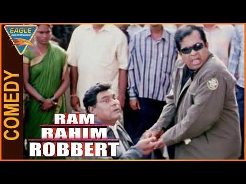 Ram Rahim Robart Hindi Dubbed Movie    Brahmanandam&KotaSrinivasa Best Comedy    Eagle Hindi Movies