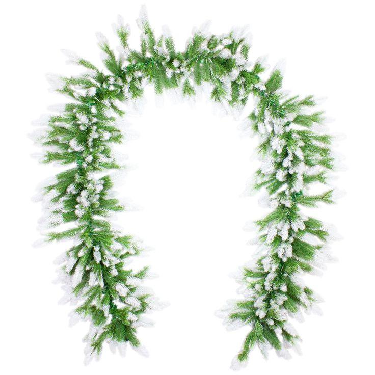 57 best k nstlicher weihnachtsbaum tannengirlande von - Beschneiter weihnachtsbaum ...