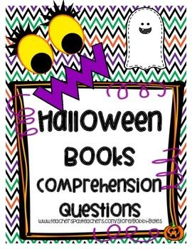 Comprehension Questions for 14 Halloween Books