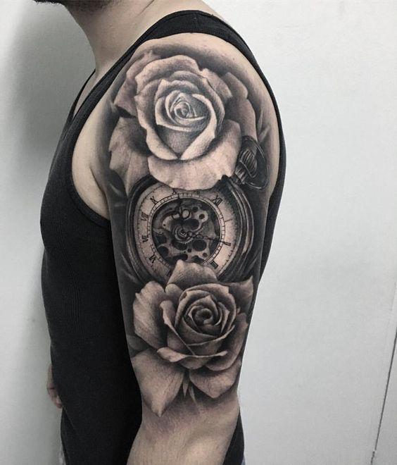 127 Tatuajes De Flores Hombromujeres Y Hombres