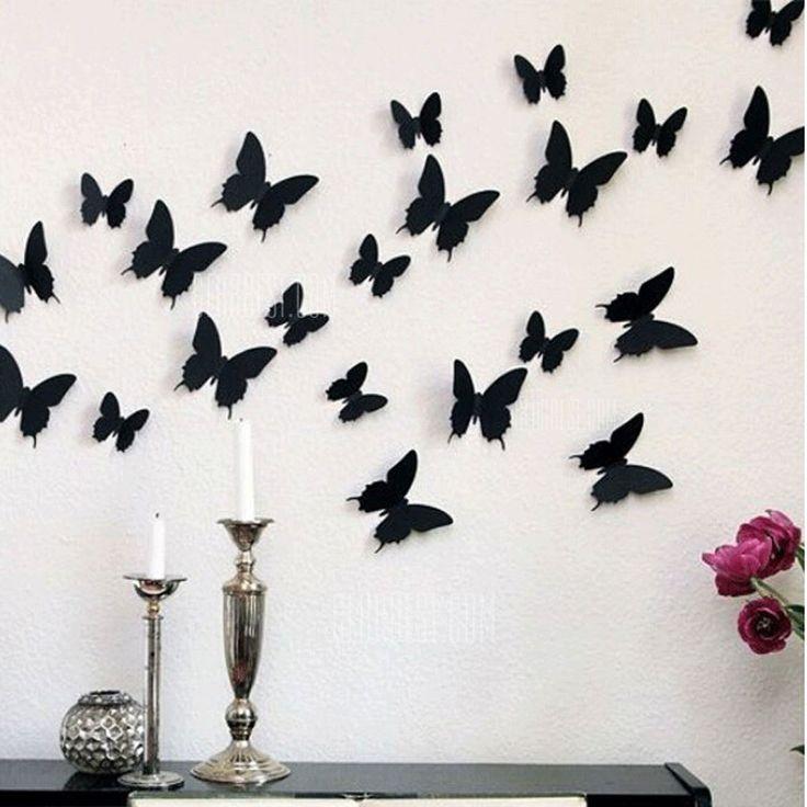 Украшаем квартиру бабочками - просто и эффектно! » Женский Мир