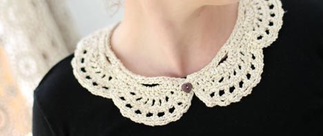 Crochet Collars                                                                                                                                                                                 More